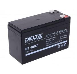 Аккумулятор 1207 Delta DT