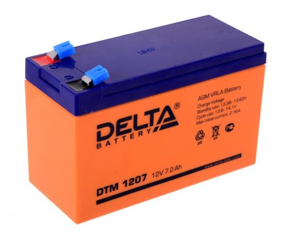 Аккумулятор 1207 Delta DTM